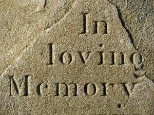 Grief in loving memory