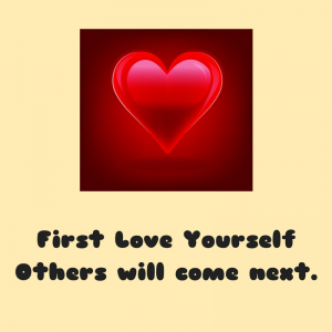 First Love Yourself